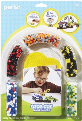 Perler Fused Bead Kit, Race Car - 1