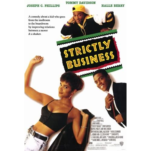 Amazon.com: Strictly Business Poster Movie 11x17 Halle