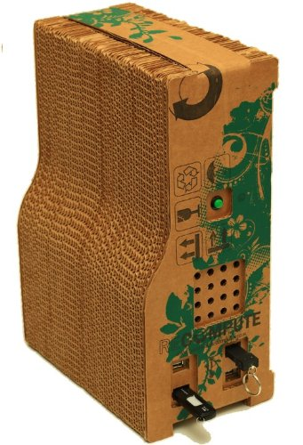 Recompute recycled cardboard computer