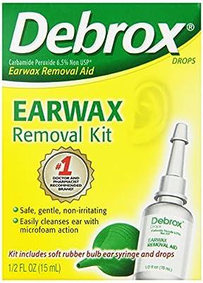 Debrox Earwax Removal Aid Kit, 0.5 Fluid Ounce