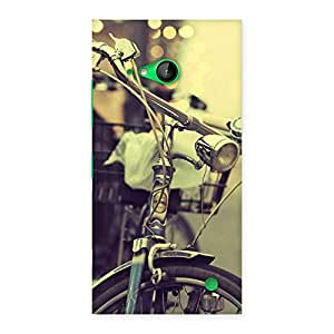 Premium Bycycle Vintage Back Case Cover for Lumia 730