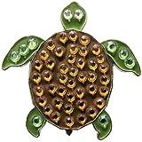 Crystal Golf Ball Marker & Hat/ Visor Clip - Turtle