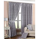 Just Contempo Curtain Pair 90