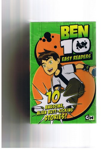Ben 10: 10 book Easy Readers box set includes: numbers 1 to 10 And then There Were 10, Tourist/Trap, Kevin 11, The Alliance, A Small Problem, Secrets, Truth, Framed, The Galactic Enforcers, Ultimate Weapon rrp £39.99