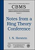 img - for Notes from a Ring Theory Conference (Cbms Regional Conference Series in Mathematics) book / textbook / text book