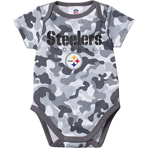 Gerber Baby Boys Pittsburgh Steelers Camo Bodysuit at SteelerMania