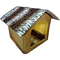 Petsho7-Stylish Home For Your Pets Triangle Hut For Dog & Cats - Small - B01LF0X46A