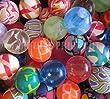 25 SUPER BOUNCE BOUNCY BALL JET BALLS CHILDREN KIDS BIRTHDAY PARTY BAG GIFT TOY