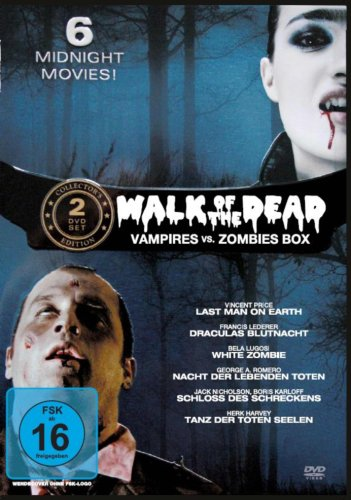 Walk of the Dead - Vampires vs. Zombies Box [2 DVDs]