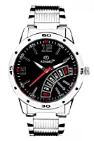 Adamo Black Dial Men's Gents Wrist Watch AD102