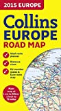 2015 Collins Map of Europe (Collins Road Map)