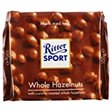 Ritter Sport Milk Chocolate with Hazelnuts 100g - Each