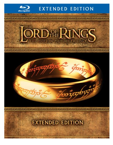 Cover art for  The Lord of the Rings: The Motion Picture Trilogy (The Fellowship of the Ring / The Two Towers / The Return of the King Extended Editions) [Blu-ray]