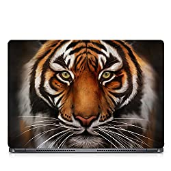 Inktree Vinyl Lion Matte Finish Adhesive Laptop Skin (15 inch x 10 inch, Mulicolor)