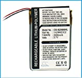 2000mAh Li-ion GPS Battery For Garmin iQue 3200, 3600, 3600a Extended