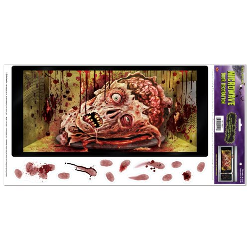 Beistle Halloween Microwave Door Decoration,