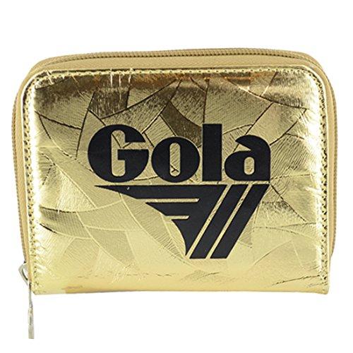 Gola accessori DAVIS METALLIC ABSTRACT gold portafoglio donna ragazza CUB958