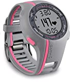 Garmin Forerunner 110W Montre de sport GPS Version HR Femme Gris/Rose