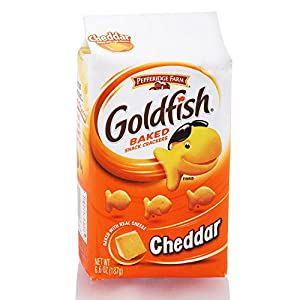 Pepperidge Farm Goldfish, Cheddar, 6.6-ounce bag