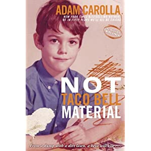 Not Taco Bell Material Hardcover Book
