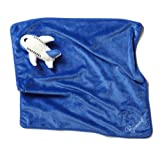 Plush Airplane Baby Blanket