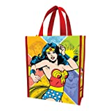Vandor 75173 Wonder Woman Small Recycled Shopper Tote, Multicolored