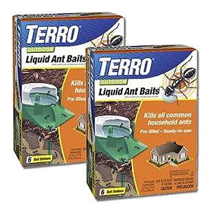 TERRO T1806-2 2-Pack Outdoor Liquid ant Baits
