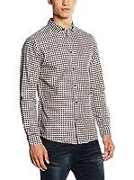 Selected Camisa Hombre (Blanco / Azul Marino / Burdeos)
