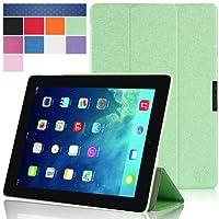 i-Blason 2nd Generation i-Folio Slim Hard Shell Stand Case Cover for Apple iPad mini with Retina Display Case (iPadmini2-iFolio-Green) by i-Blason
