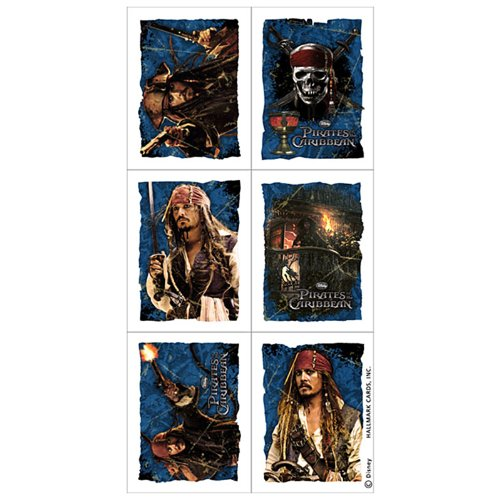 Pirates of the Caribbean: On Stranger Tides Stickers