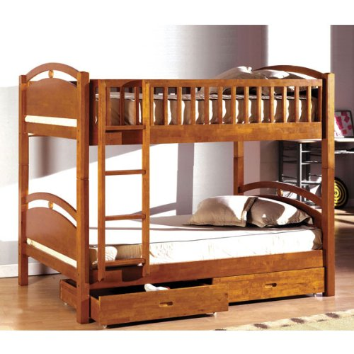 Simple Bunk Beds 4079 front