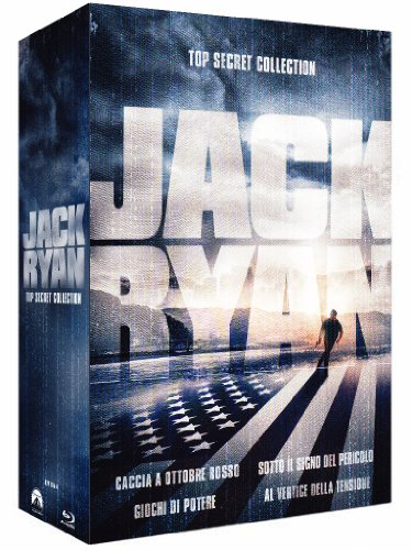 Jack Ryan - Top secret collection [Blu-ray] [IT Import]