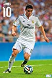 Premiership Soccer James Rodriguez Action Poster