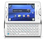 Sony Ericsson SK17A-WH Xperia Mini Pro SK17a Unlocked Android Smartphone with 5MP camera, Touchscreen and Slide-Out QWERTY Keyboard - Unlocked Phone - US Warranty - White