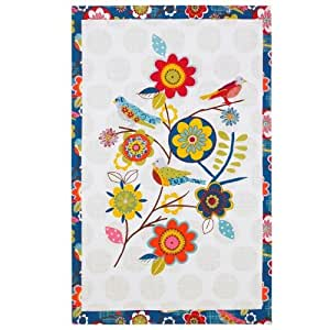 Ulster Weavers Bliss Cotton Tea Towel With Hanging Loop Dish Towels