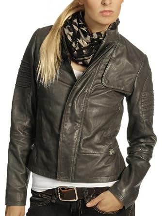 g star damen lederjacke jacke new deanie leather jkt wmn. Black Bedroom Furniture Sets. Home Design Ideas