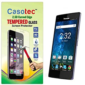 Casotec 2.5D Curved Edge Tempered Glass Screen Protector for Panasonic Eluga Turbo