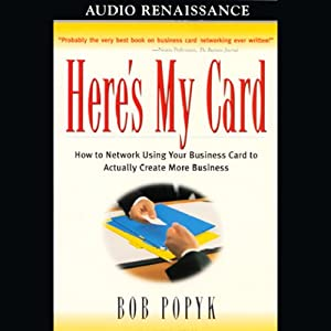 Here's My Card Audiobook