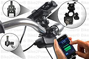 SpinPOWER I4 iPhone 4 Bicycle USB Charger KIT