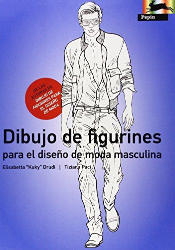 Dibujo de Figurines Para El Diseno De Moda Masculina