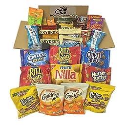 Box-O-Snacks Sweet & Salty Variety Gift Box (65 Count)