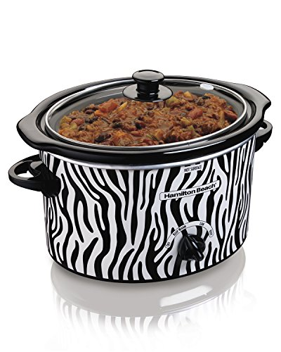 NEW Hamilton Beach 33238 Oval Countertop Designer Slow Cooker and Dipper, 3-Quart (Designer Slow Cooker compare prices)