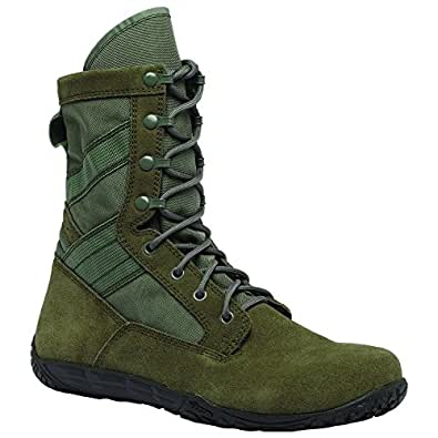 Tactical Research TR103 Men's Mini-Mil 8-in Trainer Tactical Boot Sage Green 3 M US