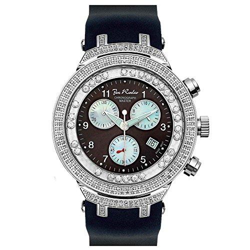 Joe Rodeo Diamond reloj de los hombres - el maestro de la plata 2,2 ctw