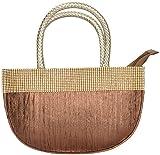 Novelty Bags Women's Clutch (Brown, NOVELTY BAGS_13)