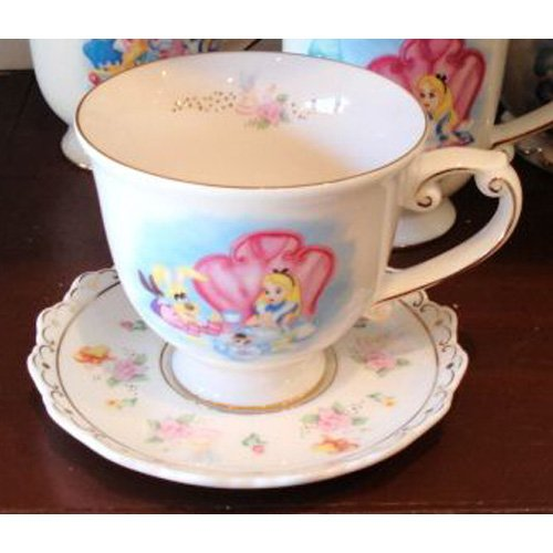 Alice In Wonderland Tea Cup & Saucer
