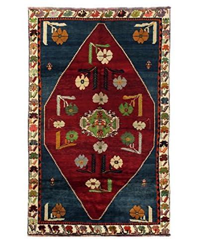 Bashian Hand Knotted Kashkayi Rug, Red, 5' 7 x 8' 9