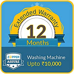 Zopper Assure 12 Months Extended Warranty for Washing Machine (Upto Rs 10000)