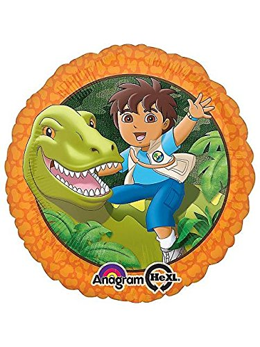 Diego Biggest Rescue Birthday Mylar Balloon - 1