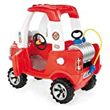 Little Tikes Cozy Truck Fire Engine Ride-On with Water Sprayer (2+ Years)
